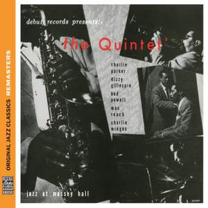 The Quintet: Jazz At Massey Hall [Original Jazz Classics Remasters] Product Image