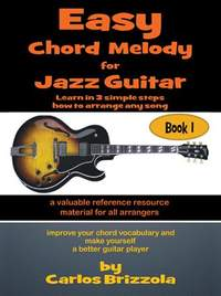 Easy Chord Melody for Jazz Guitar