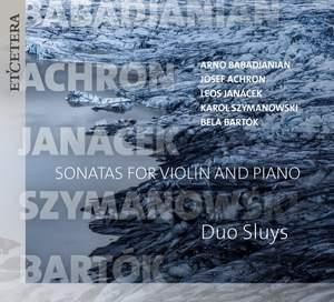 Babadzhanian, Janacek & Bartók: Works for Violin and Piano Product Image