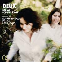 Deux: Music for Violin & Piano by Bartók, Poulenc & Ravel