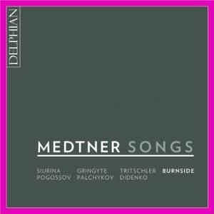 Medtner: Songs Product Image