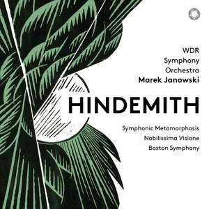 Hindemith: Symphonic Metamorphosis, Nobilissima Visione & Boston Symphony
