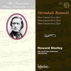 The Romantic Piano Concerto 74 - Sir William Sterndale Bennett Product Image