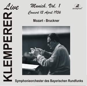 Klemperer Live: Munich, Vol. 1 — Mozart & Bruckner (Historical Recordings) Product Image