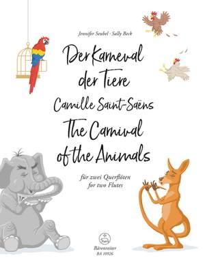 Saint-Saëns, Camille: Der Karneval der Tiere für zwei Querflöten