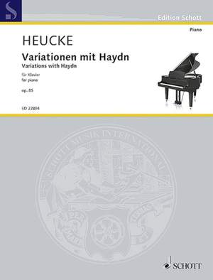 Heucke, S: Variations with Haydn op. 85