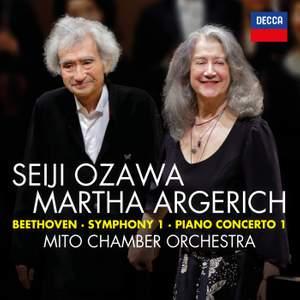 Beethoven: Symphony No.1 in C; Piano Concerto No.1 in C (Live)
