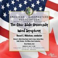 2017 American Bandmasters Association: The Ohio State University Wind Symphony (Live)