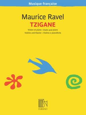 Maurice Ravel: Tzigane - Rapsodie De Concert
