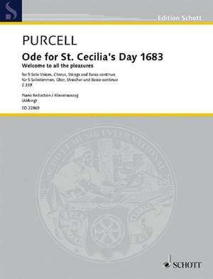 Purcell, H: Ode for St. Cecilia's Day 1683 Z 339
