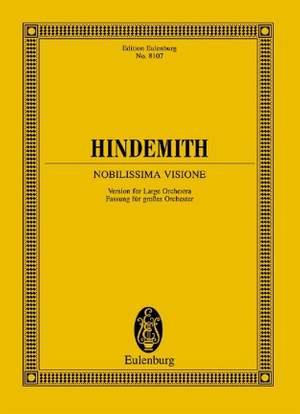 Hindemith, P: Nobilissima Visione