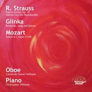 R. Strauss, Glinka & Mozart: Transcriptions for Oboe and Piano
