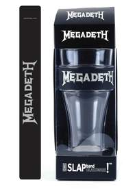 Megadeth Slap Band Single Pint Glassware