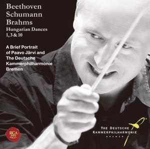 Brahms: Hungarian Dances 1, 3, 10-The Portrait of Paavo Jarvi and The Deutsche Kammerphilharmonie