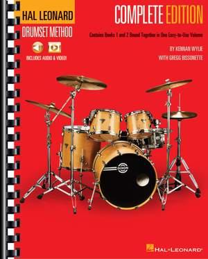 Kennan Wylie_Gregg Bissonette: Hal Leonard Drumset Method - Complete Edition