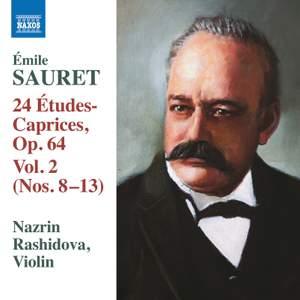 Sauret: 24 Études-Caprices, Op. 64, Vol. 2 Product Image