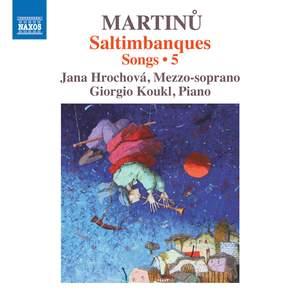 Martinu: Saltimbanques - Songs 5 Product Image