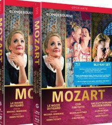 Mozart: Così fan tutte; Die Entführung aus dem Serail; Le nozze di Figaro