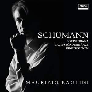 Schumann: Kreisleriana, Davidsbündlertänze, Kinderszenen