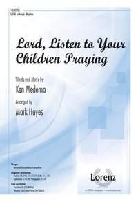 Ken Medema: Lord, Listen To Your Children Praying