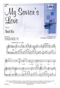 Brad Nix: My Savior's Love