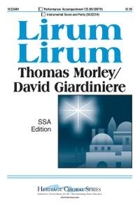 Thomas Morley: Lirum Lirum