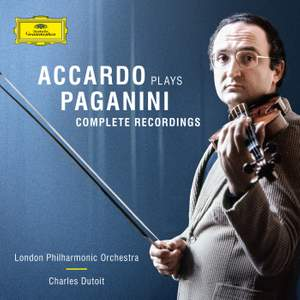 Salvatore Accardo plays Paganini: The Complete Recordings Product Image