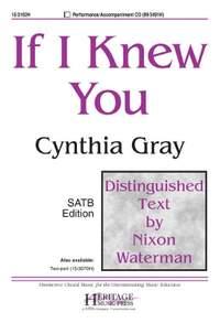 Cynthia Gray: If I Knew You