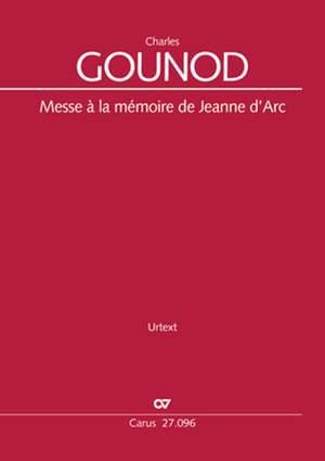 Gounod: Messe à la mémoire de Jeanne d'Arc, CG 74