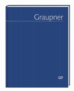 Christoph Graupner. Thematisches Verzeichnis der musikalischen Werke