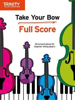 Cobb, Celia: Take Your Bow. Full Score