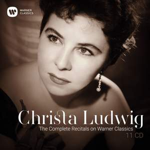 Christa Ludwig - The Complete Recitals on Warner Classics