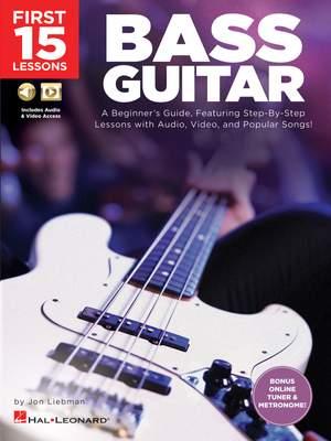 Jon Liebman: First 15 Lessons - Bass Guitar