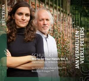 Schubert: Works for Four Hands Vol. 5