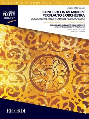 Giulio Briccialdi: Concerto in mi minore per flauto e orchestra