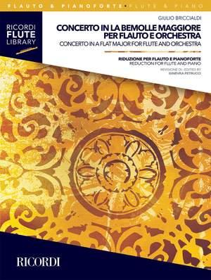 Giulio Briccialdi: Concerto in la bem maggiore per flauto e orchestra