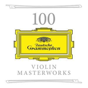 100 Violin Masterworks Product Image