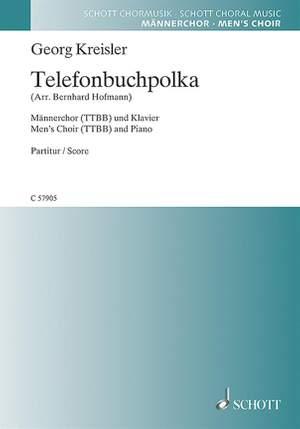 Kreisler, G: Telefonbuchpolka