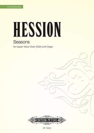 Hession, Toby: Seasons (SSA)