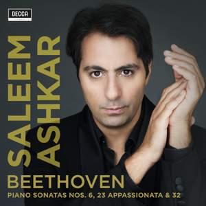 Beethoven: Piano Sonatas Nos. 6, 23 and 32