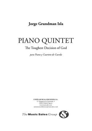 Jorgen Grundman: Isla Piano Quintet (The Toughest Decision Of God)