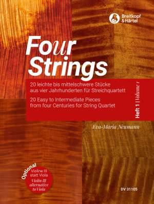Eva-Maria Neumann: Fo(u)r Strings Volume 1