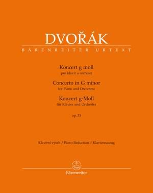 Dvorák, Antonín: Konzert für Klavier und Orchester g-Moll op. 33 B 63