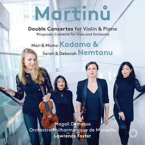 Martinů: Double Concertos for Violin and Piano