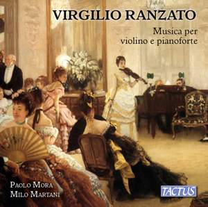 Virgilio Ranzato: Music for violin and piano Product Image
