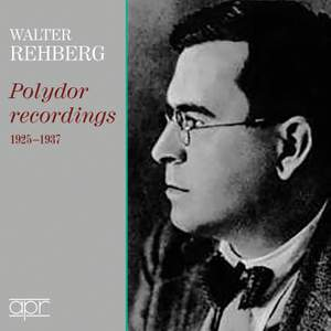 Walter Rehberg: Polydor Recordings, 1925-1937 Product Image