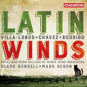 Villa-Lobos, Joaquin Rodrigo & Carlos Chávez: Latin Winds Product Image