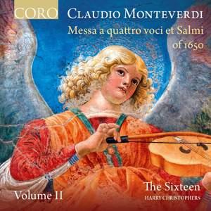 Monteverdi: Messa a quattro voci et salmi of 1650