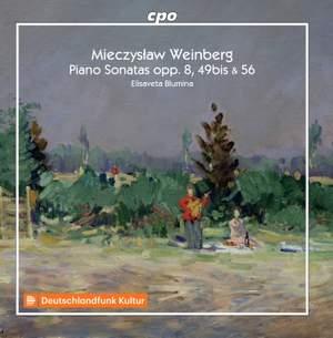 Weinberg: Piano Sonatas Opp. 8, 49Bis & 56