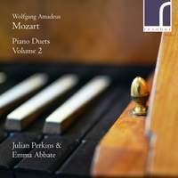 Mozart: Piano Duets, Vol. 2